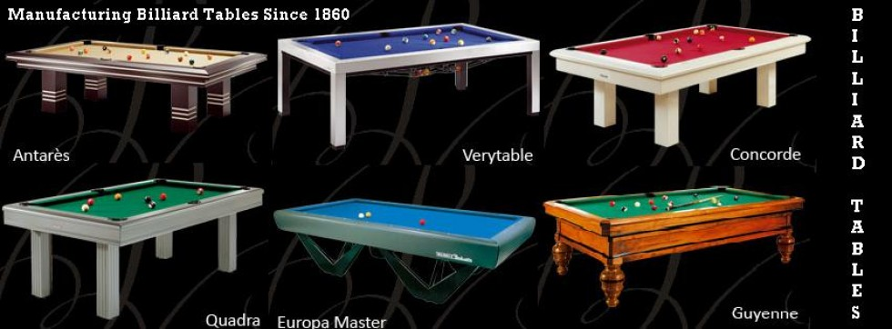 Manufacture And Sale Billiard Tables Since Buy Billiard Table - Billiards table online